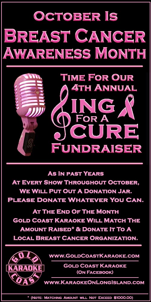 4th annual poster sing for a cure
